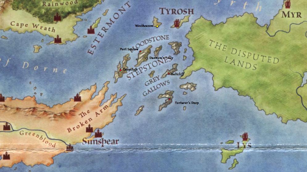Historia de tres ciudades: Myr, Lys y Tyrosh — La Compañía
